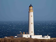 Barns Ness lighthouse - geograph.org.uk - 1761800.jpg