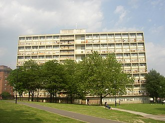 South Acton, London - Image: Barwick house