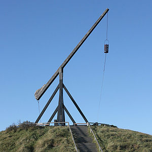 Anholt (Denmark) - Bascule light at Skagen