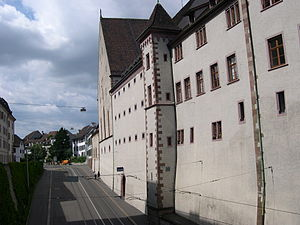 "Basel Historical Museum - ""Lohnhof"" building housing the music museum."