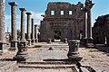 Basilica Complex, Qanawat (قنوات), Syria - East part- view through atrium to southern façade - PHBZ024 2016 3564 - Dumbarton Oaks.jpg
