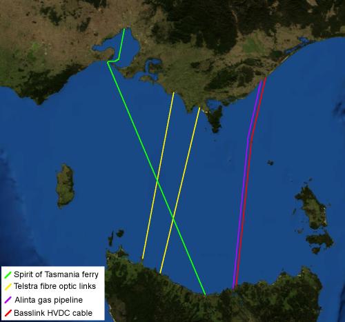 Bass Strait infrastructure