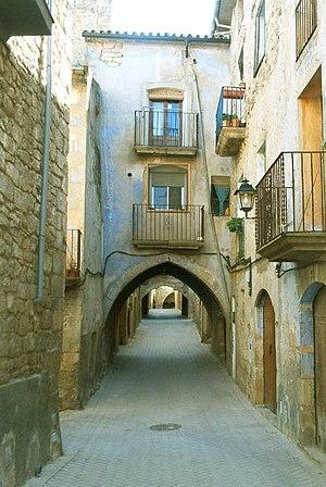 Batea, Tarragona - A street in Batea