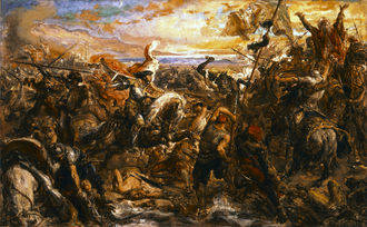 Crusade of Varna - King Władysław III of Poland in the Battle of Varna, by Jan Matejko