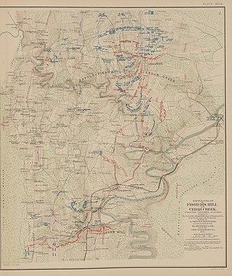 Battle of Fisher's Hill - Battlefields of Fisher's Hill and Cedar Creek, VA