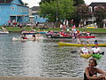 Bayou St John 4th of July NOLA 2012 Heavy Traffic.JPG
