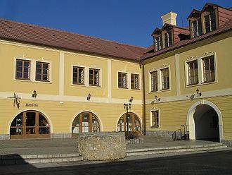 Maurice Benyovszky - Benyowsky family home in Vrbové