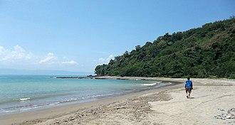 Palabuhanratu - Beach at Pelabuhan Ratu, Sukabumi, West Java, Indonesia