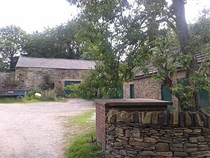 Listed buildings in Sheffield S8 - Image: Beauchief Abbey Farmhouse Farmbuildings