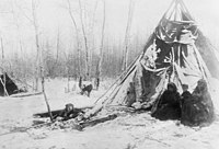 Beaver tipi in winter near Peace River Alberta - NA-1315-23.jpg