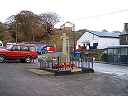 Bedlinog War Memorial and rugby club - geograph.org.uk - 79896.jpg