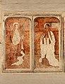 Begijnhofkerk, muurschildering , H.Cecilia en H.Lucia - 373993 - onroerenderfgoed.jpg