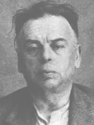 Béla Kun - Béla Kun after arrest by NKVD 1937