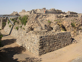 Belvoir Fortress - Belvoir from southwest