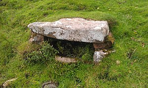 Belstone - The holy well at Belstone