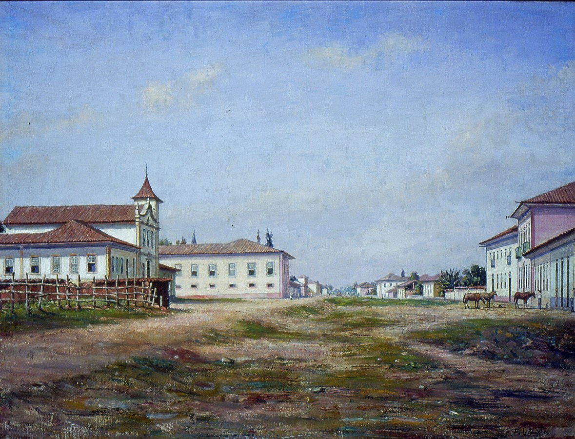 Largo e Matriz do Brás, 1862