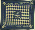 "Benjamin Harrison-Morton ""Our Choice"" Handkerchief, ca. 1888 (4360088426).jpg"