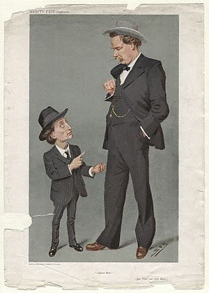Ben Tillett - Ben Tillett and John Ward caricatured by Spy for Vanity Fair, 1908
