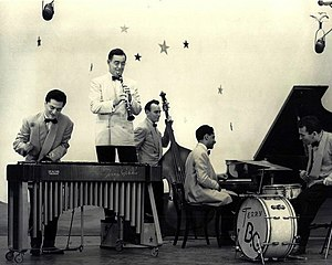 DuMont Television Network - Benny Goodman and his band on the DuMont show Star Time, ca. 1950.