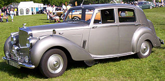 John Polwhele Blatchley - Image: Bentley Mark VI 4 Door Saloon 1952