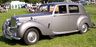 John Polwhele Blatchley - Image: Bentley Mark VI 4 Door Saloon 1952