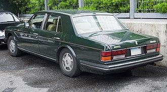 Bentley Mulsanne (1980–92) - Bentley Mulsanne S
