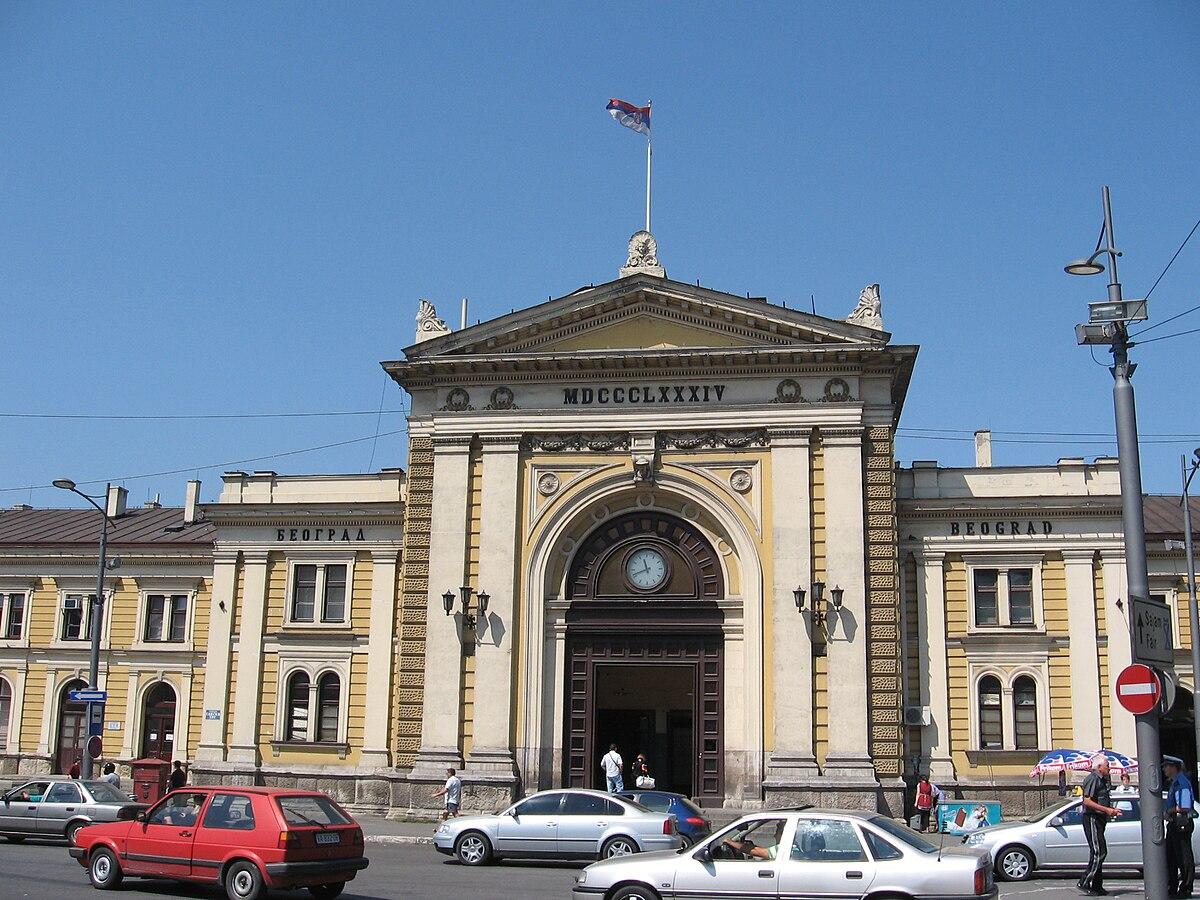 Gare Principale De Belgrade Wikipedia