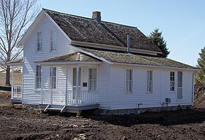 National Register of Historic Places listings in Minnehaha County, South Dakota - Image: Berdahl Rolvaag house 1