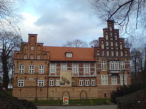 Saxe-Lauenburg - Bergedorf Castle in Bergedorf, former seat of the Lauenburg Elder Line