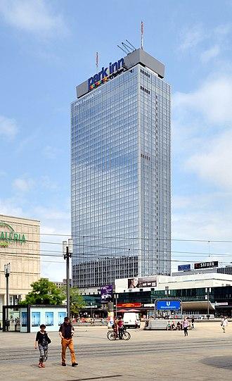 Rezidor Hotel Group - Park Inn by Radisson Berlin Alexanderplatz, a hotel operated by the group