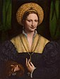 Bernardino Luini Lady with a Flea Fur.jpg