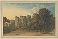 Berry Pomeroy Castle in the County of Devon MET DP829463.jpg