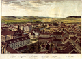 Besemann - Blick auf Goettingen aus der Vogelschau nach Nordwesten (um 1850).png