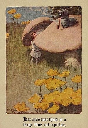 Bessie Pease Gutmann - Image: Bessie Pease Guttman Alice in Wonderland