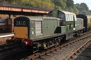 Bewdley - D8568 arriving from Kidderminster.JPG