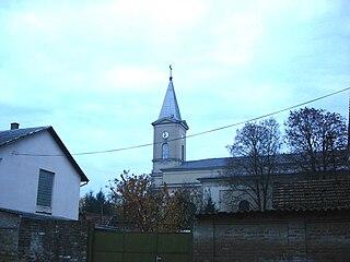Bezdan Village in Vojvodina, Serbia