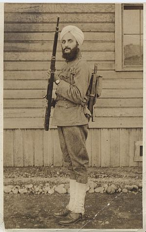 Bhagat Singh Thind - Bhagat Singh Thind in US Army Uniform