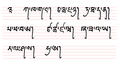 Bhutan Joyig script (30 consonants).png