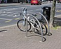 Bicycle rack, Chingford Mount Road, Waltham Forest, England.jpg