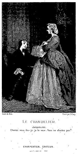 Le Chandelier (Alfred de Musset)