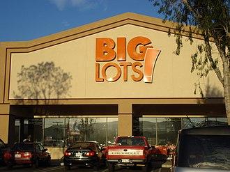 Big Lots - Image: Big Lots