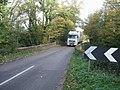 Big lorry on a small bridge - geograph.org.uk - 277253.jpg