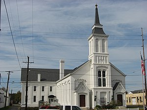 National Register of Historic Places listings in Scioto County, Ohio - Image: Bigelow UMC, Portsmouth