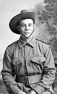 Billy Sing Australian soldier in World War I