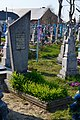 Bilyn Kovelskyi Volynska-grave of pilot Nekrasov-2.jpg