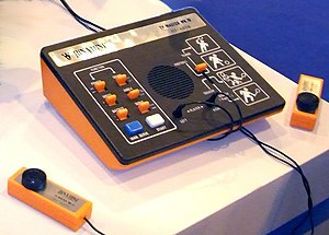 First generation of video game consoles - Image: Binatone TV Master Mk IV