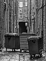 Bins in a Bradford Backstreet (18840615421).jpg