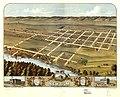 Bird's eye view of New Ulm, Brown County, Minnesota 1870. LOC 73693457.jpg