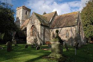 Birtsmorton - Image: Birtsmorton churcht