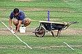Bishop's Stortford Cicket Club groundsman, Hertfordshire 1.jpg